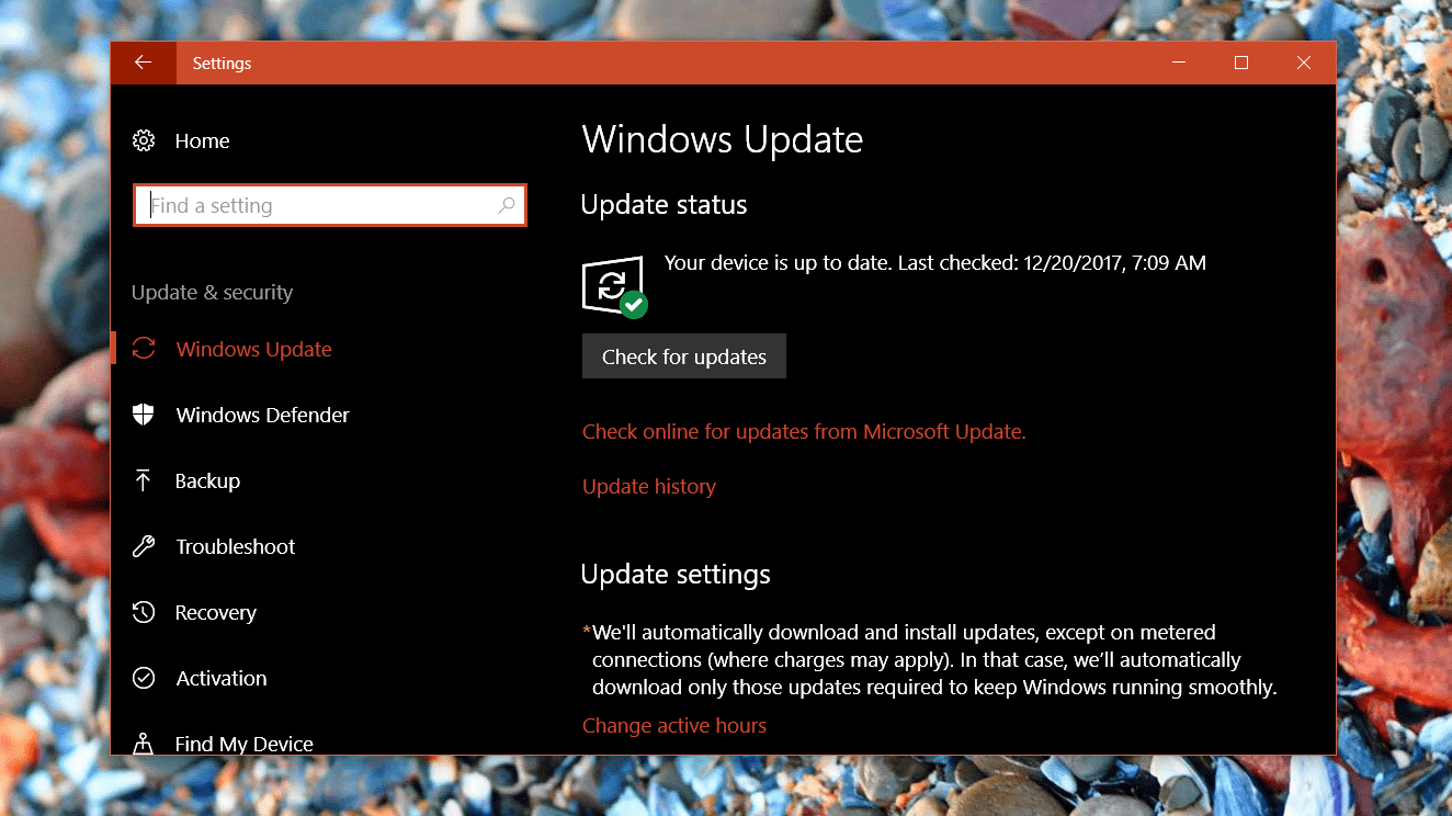 windowsUpdate2018