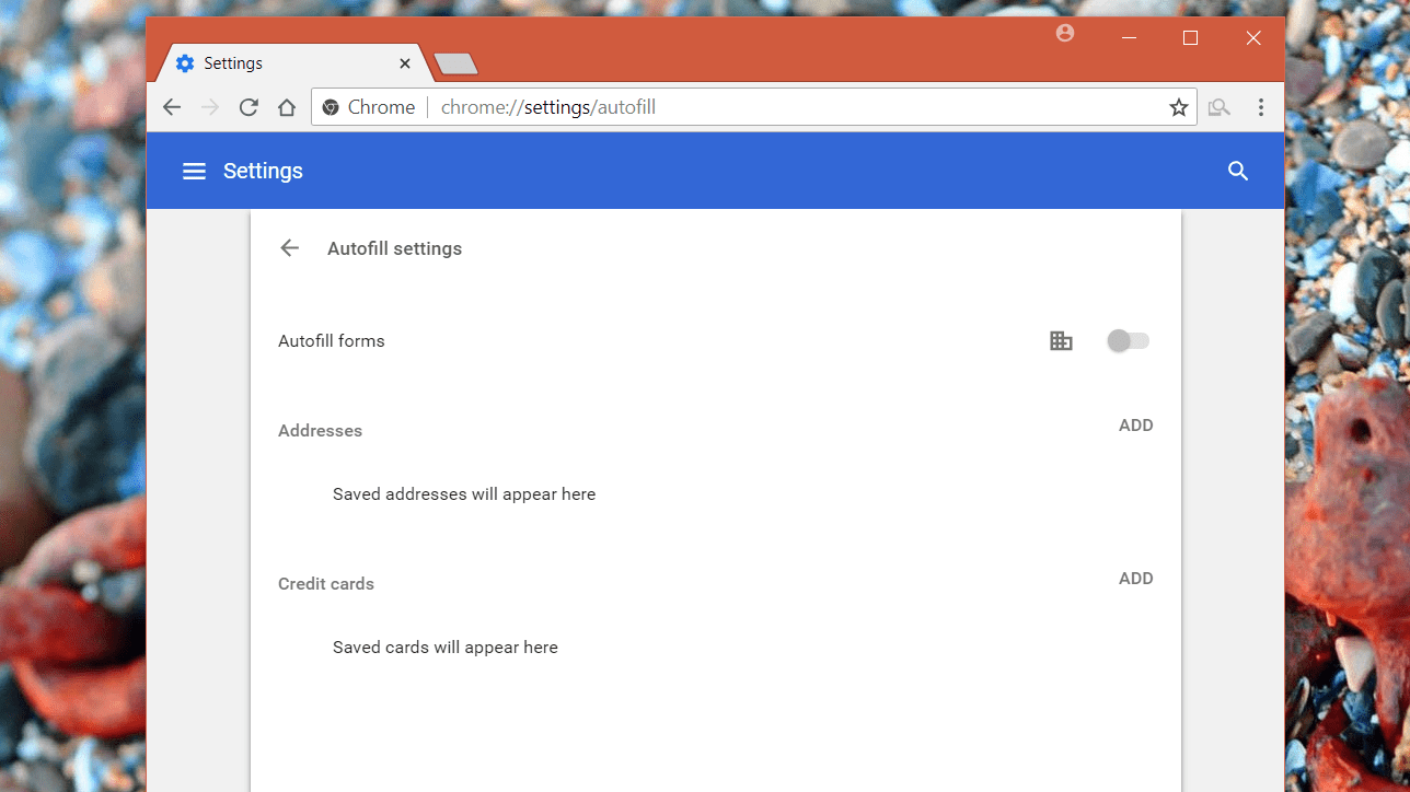 chromeAutoFillSettings2018
